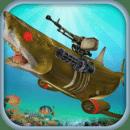 水下 机器人 鲨鱼 狩猎