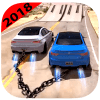 Chained Cars Beam Drive Game