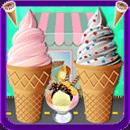 冰淇淋机游戏 - 烹饪