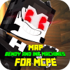 Map for Bendy and the Ink Machine for MCPE