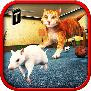愤怒的猫和老鼠