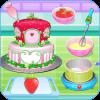 做草莓蛋糕的奥莉维亚