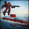 俄罗斯潜艇机器人变形战斗模拟器
