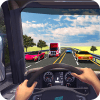 在卡车驾驶:公路路和越野轨道