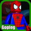 Gopleg World; LEGO Spider Backdrop