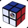 Pocket 2X2 Rubik's Cube Solver