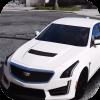 Car Parking Cadillac CTS-V Simulator