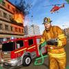 真实 消防队员 拯救 司机: 自由 拯救 游戏