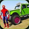 超级英雄特技越野车