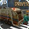 3D垃圾车驾驶