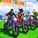 Super Heroes Bike Stunts Mania