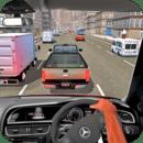 驾驶 在 汽车 上 高速公路