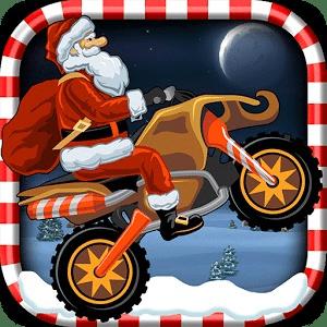 圣诞老人:骑车游戏
