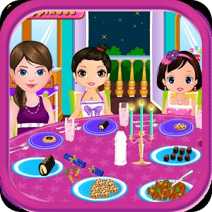 生日派对女孩小游戏