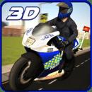 911警察摩托车