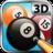 3D单机台球