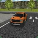 3D模拟卡车停车
