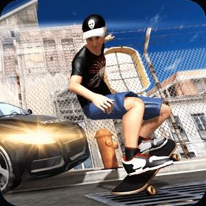 滑板运动游戏