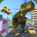 Blocky Zilla: City Crush