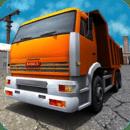 建筑运输卡车3D