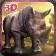 3D愤怒的犀牛模拟器游戏