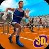 Athletics Running Race