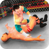 Wrestling Mayhem Cage Revolution Fight
