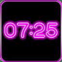 Neon Digital Clock LWP