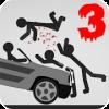 Stickman Dismount 3 Heroes*
