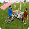 Bicycle Boy Ice Cream Delivery