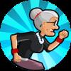 愤怒的老奶奶玩跑酷