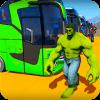 Superheroes Bus Stunts Racing