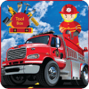 Fire Truck Wash Salon & Repair Garage Games