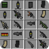 Inventory guns mod for mcpe