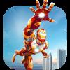 Super Hero Iron Robot Machine Guardian Survival