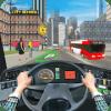 现代 公共汽车 驱动器 停车场: 公共汽车 赶