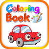 Coloring book for kids learning
