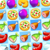 烹饪疯狂:超好玩的免费三消益智游戏