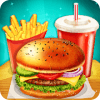 Happy Kids Meal Maker - Burger Cooking Game