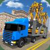 Robot Car Transport Transform Truck Game Simulator