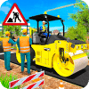 Road Construction Sim Operating Heavy Machinery