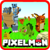 Pixelmon craft story build 3D