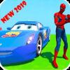 Superheroes US Impossible GT Racing Stunt Games
