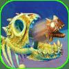3D Feed Sceleton Fish Simulator