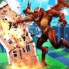 Dragon Vs Crowd  Distruction City Simulator