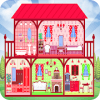 Doll House Cleaning Game for girls