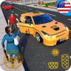 Yellow Cab American Taxi Driver 3D New Taxi Games