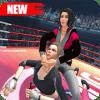 Women Wrestling Ring Battle Ultimate action pack