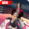 Women Wrestling Ring Battle Ultimate action pack