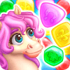 Match3 Magic Prince unicorn lovely story quest